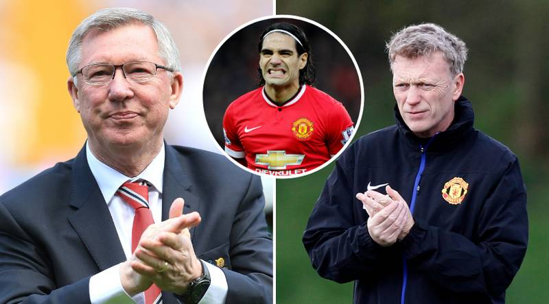 Sir Alex Ferguson Tried To Sign Edinson Cavani For Manchester United On Behalf Of David Moyes In 2014