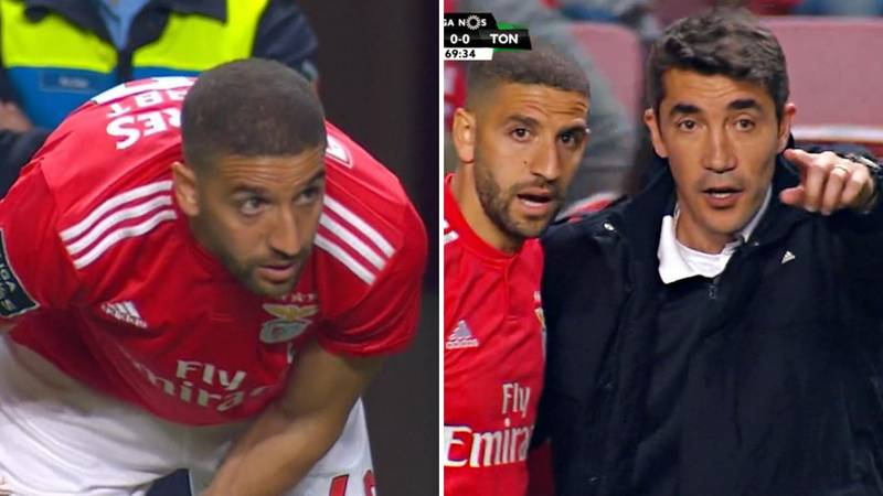 Adel Taarabt Makes His Debut For Benfica Four Years After Signing With The Club