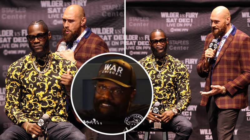 Dereck Chisora Sends Warning To Tyson Fury Over 'Disaster Rematch' With Deontay Wilder