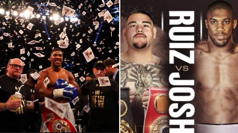 'Anthony Joshua Is Getting $75 Million' For Andy Ruiz Fight In Saudi Arabia