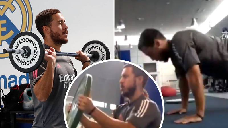 Eden Hazard Hits Back At 'Overweight' Claims With Intense Training Video