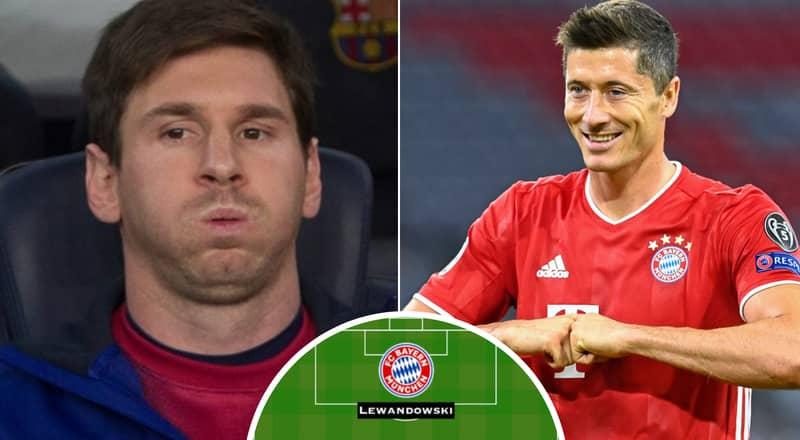 Fan's Barcelona-Bayern Munich Combined XI Ahead Of Champions League Goes Viral