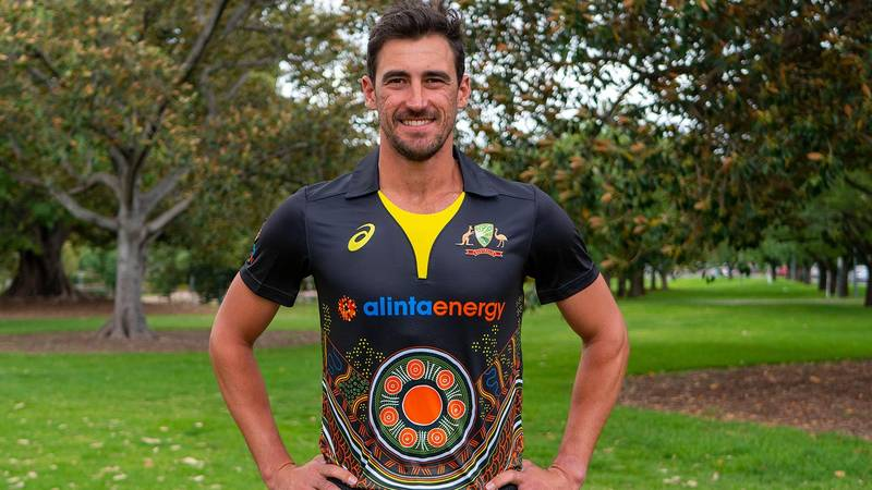Australian Men's Cricket Team Reveals First Ever Indigenous Jersey