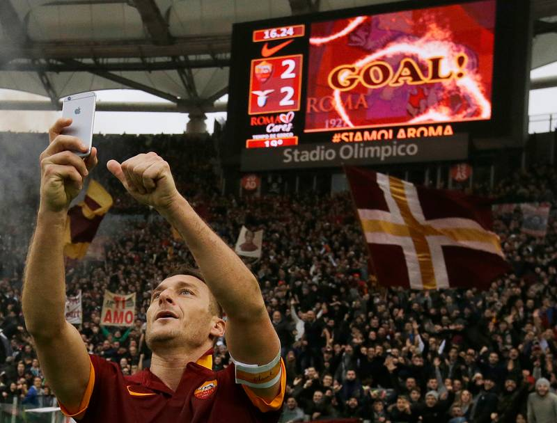 Francesco Totti Names His Greatest Ever Teammate