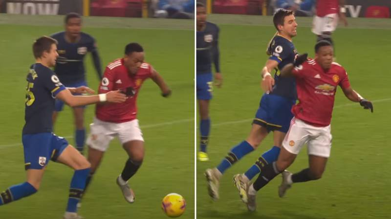"Anthony Martial Penalty Decision Labelled The ""Worst Use Of VAR In Premier League History"""