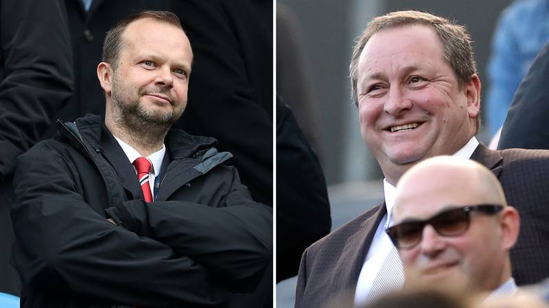 Mike Ashley To Ed Woodward: 'Football's Most Unpopular Man Meets Football's Second Most Unpopular Man'