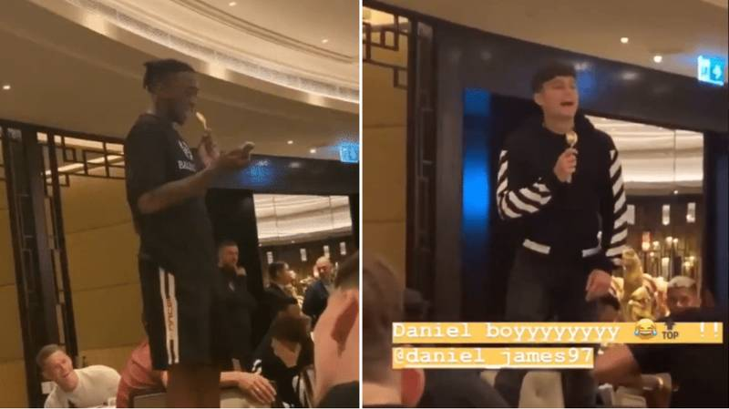 Manchester United New Boys Daniel James And Aaron Wan-Bissaka Sing Initiation Songs And It's Brilliant