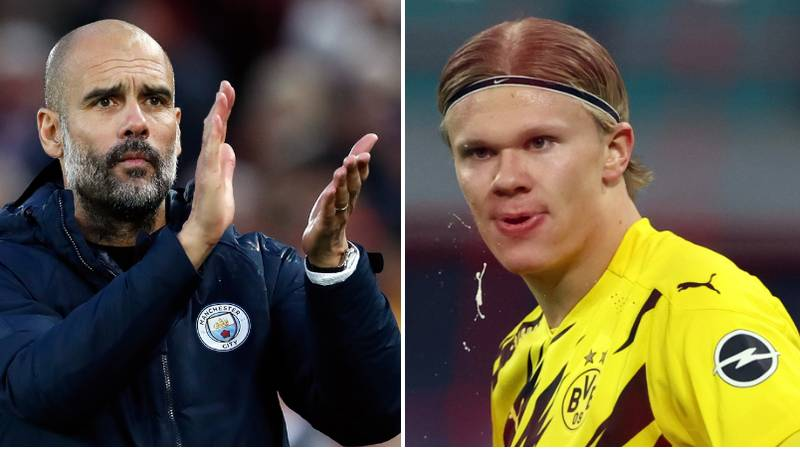 Man City Could Use Jadon Sancho Clause To Beat Man United To Erling Haaland Transfer