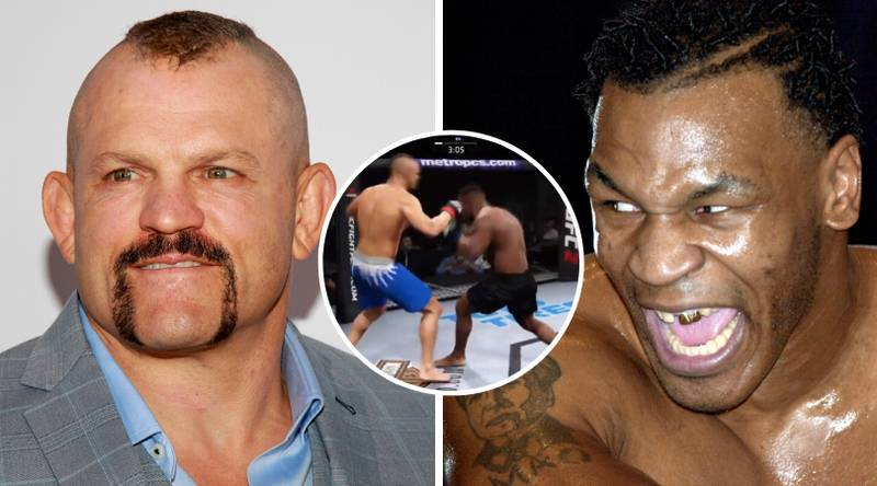 YouTuber Simulates Mike Tyson Vs Chuck Liddell, One Fighter Is Dominant