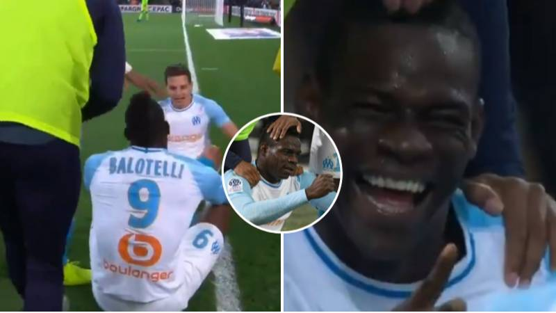 Mario Balotelli Scores Winner Against Nice, Produces Rock, Paper, Scissors Celebration