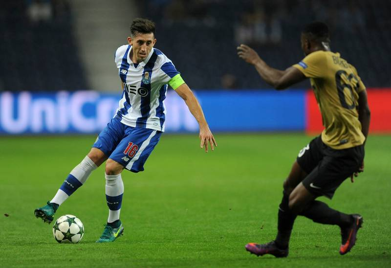Porto's Hector Herrera Shows Off Gruesome Foot Injury After Juventus Game