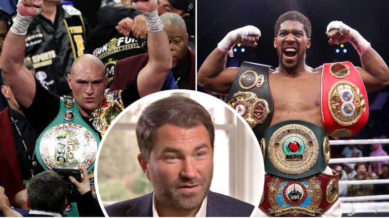 Eddie Hearn Gives Major Update On Tyson Fury Vs. Anthony Joshua Unification Fight