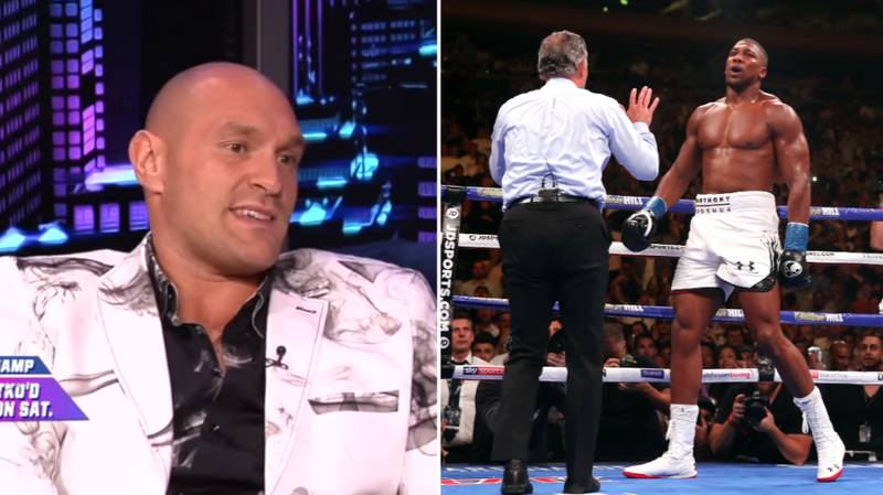 """Tyson Fury Brands Anthony Joshua A """"Disgrace"""" In Savage Rant"""