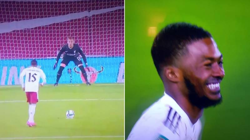 Ainsley Maitland-Niles Laughed At Adrian After Scoring Ice-Cold Penalty During Shootout Victory