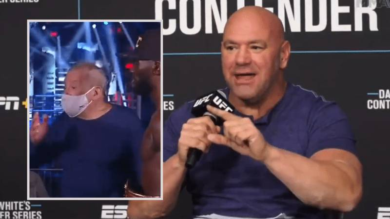 """Dana White Explodes On """"F**king Piece Of Sh*t"""" Bob Arum For Comments About Terence Crawford"""