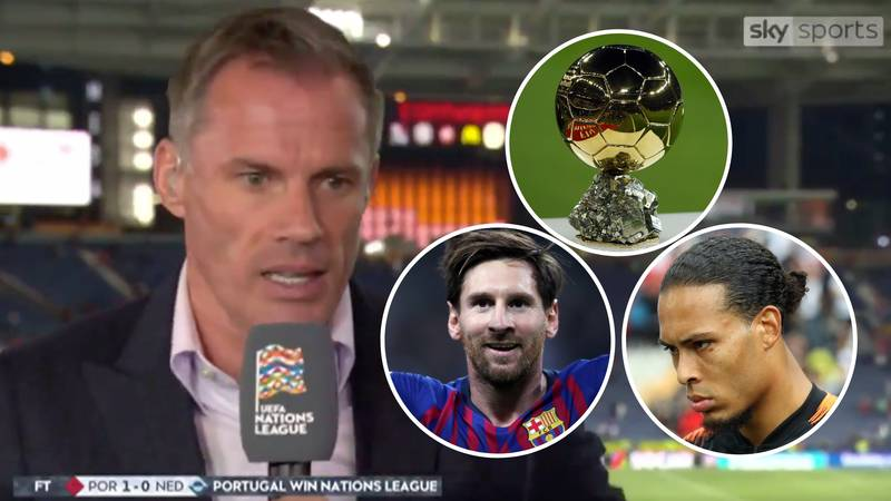 Jamie Carragher Backed Lionel Messi To Beat Virgil Van Dijk For The Ballon d'Or