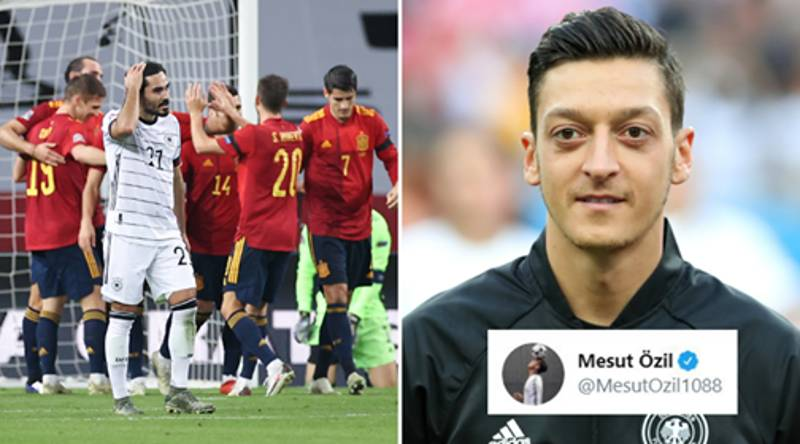 Mesut Ozil Has His Say On Germany's Humiliating 6-0 Defeat To Spain