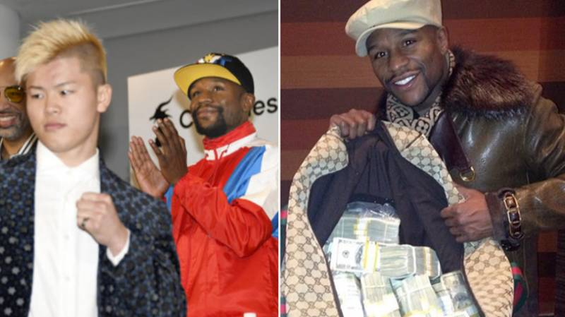 Floyd Mayweather Set To Earn £69 Million For Nine-Minute Fight Against Tenshin Nasukawa