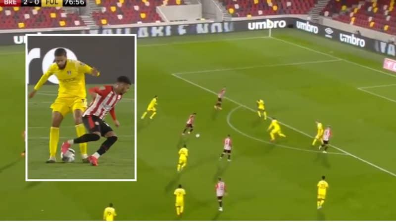 Said Benrahma Nutmegs Defender Then Scores Long-Range Goal In Sensational Moment