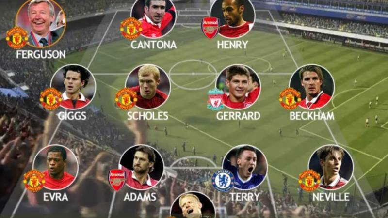 This Team Voted The Greatest Premier League XI Of All Time By Fans