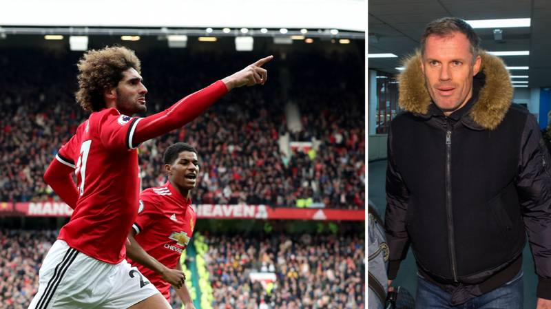 Marouane Fellaini Hits Back At Jamie Carragher Criticism