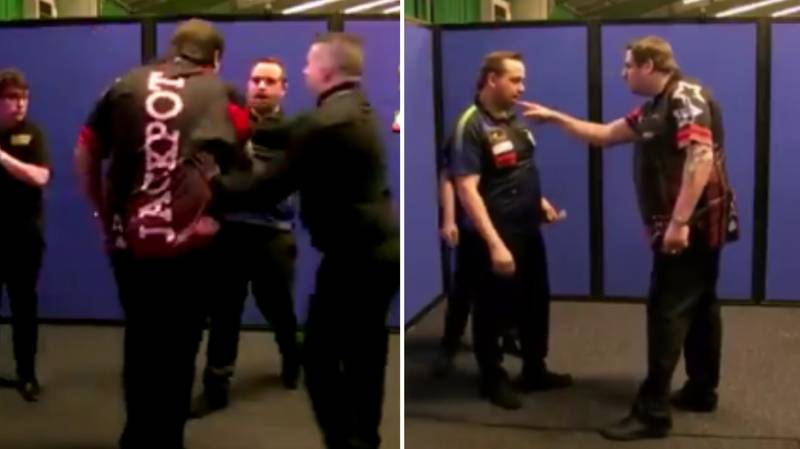 Adrian Lewis Suspended By PDC After Altercation In Match