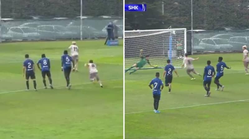 Shakhtar Donetsk Under 19 Players Brilliantly Recreate Genius Messi-Suarez Penalty