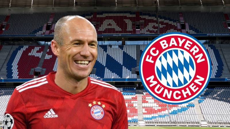 European Giant Ready To Sign Bayern Munich Star Arjen Robben On A Free Transfer