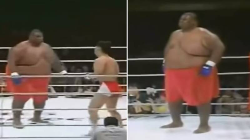 When A 600lbs Sumo Wrestler Fought A 169lbs MMA Fighter