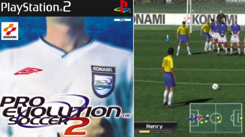 'Pro Evolution Soccer 2' Voted The Greatest Football Game Ever