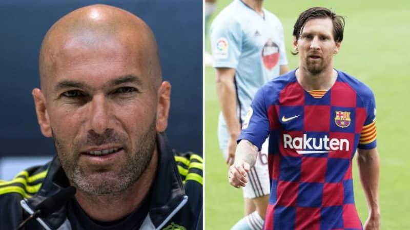 Zinedine Zidane Responds To Lionel Messi's Decision To Leave Barcelona