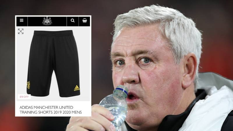 You Can Buy Manchester United Merchandise From Newcastle's Official Club Shop