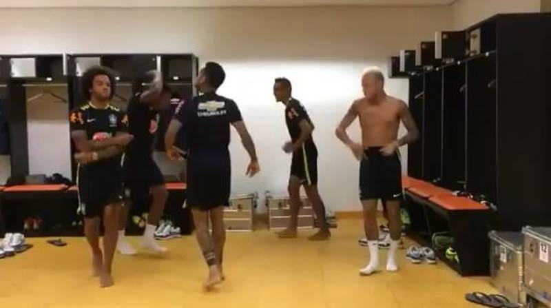 WATCH: Neymar, Dani Alves And Marcelo Show Off Slick Dance Moves