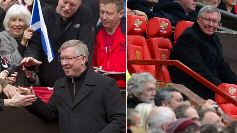 What Sir Alex Did For The Club's Oldest Season Ticket Holder On A Weekly Basis Is Incredible