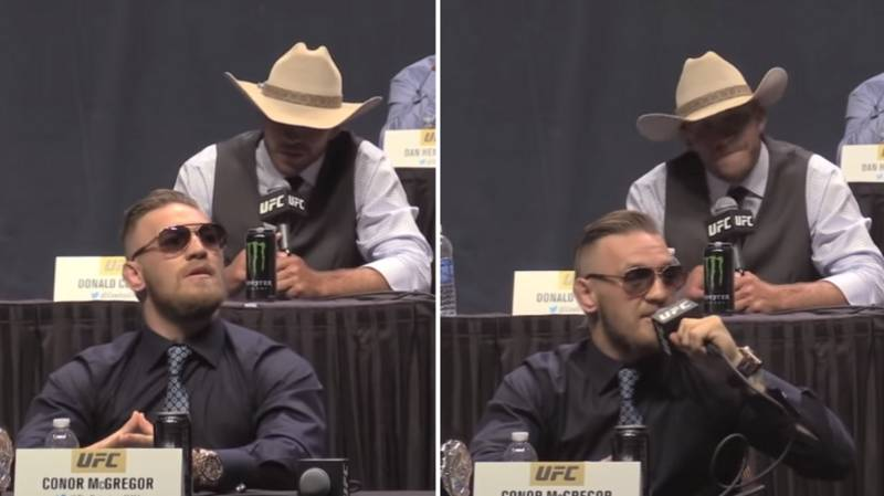 Conor McGregor Told Donald Cerrone He Was The 'Red Panty Fight' In 2015