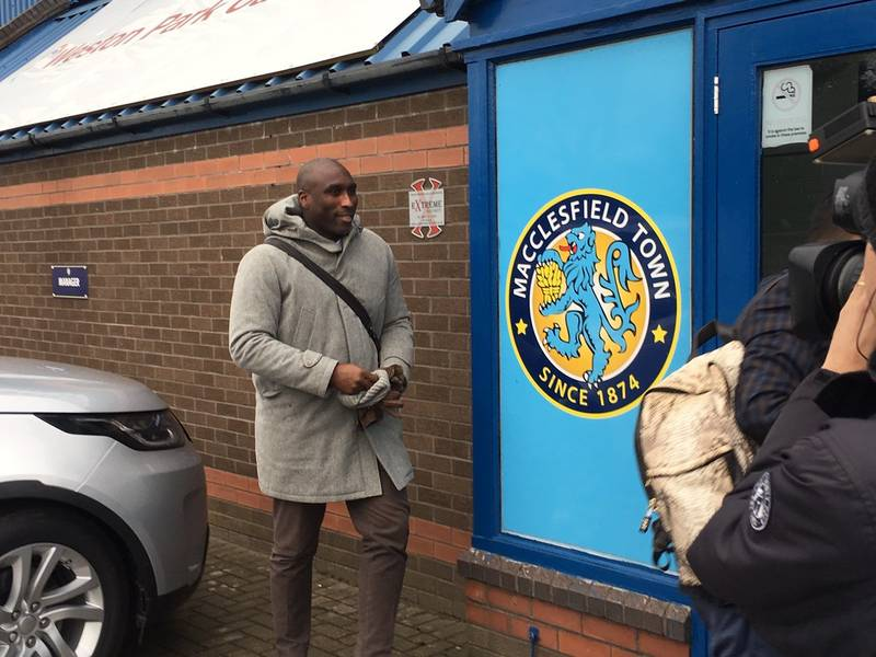 Sol Campbell Announced As Macclesfield Town Manager