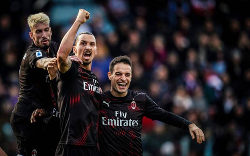 Zlatan Ibrahimovic Recorded The Second Fastest Sprint In His AC Milan Return