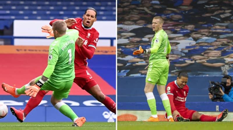 Liverpool Give Update On Virgil Van Dijk Following Everton Game
