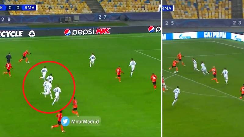 Footage Emerges Of Real Madrid's Comically Bad Defending For First Goal In 2-0 Defeat To Shakhtar Donetsk