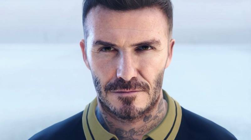 This Is Not A Real Life Picture Of David Beckham - It's From PES 2019