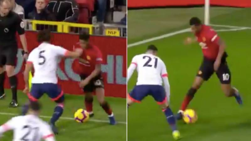 Marcus Rashford Ruins First Defender, Flip-Flaps Another, Then Provides 'Genius' Assist