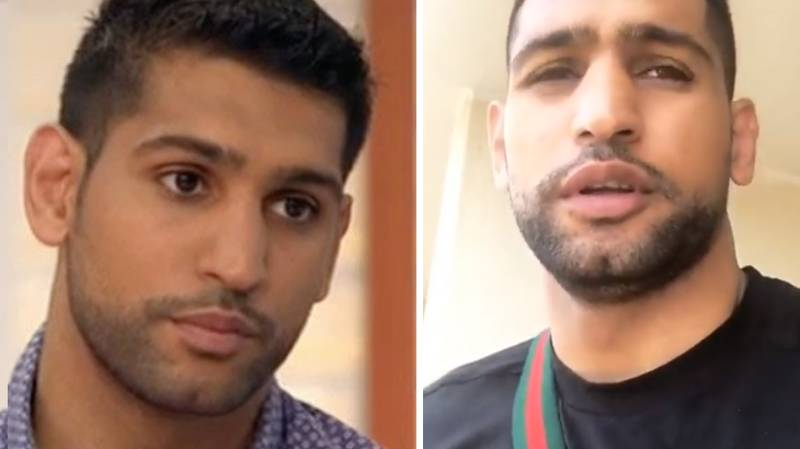 Amir Khan Targeted With Sick Death Threats Over Christmas Photo
