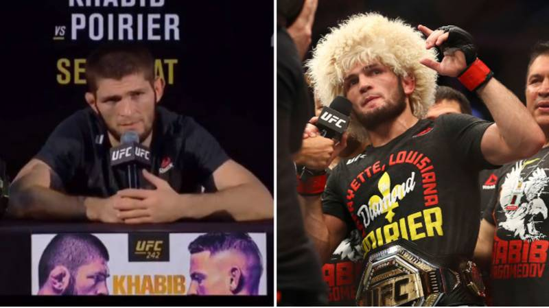 Khabib Nurmagomedov Calls For 'Respect' And To Be Named Pound-For-Pound Champion