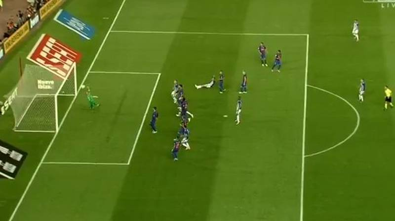 WATCH: Theo Hernandez Bends In Outrageous Free-Kick Against Barcelona