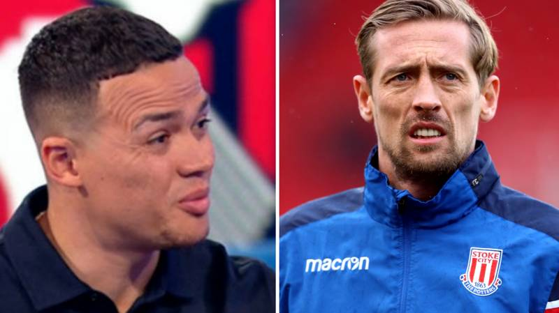 Fans Can't Believe Jermaine Jenas' View On Peter Crouch Transfer