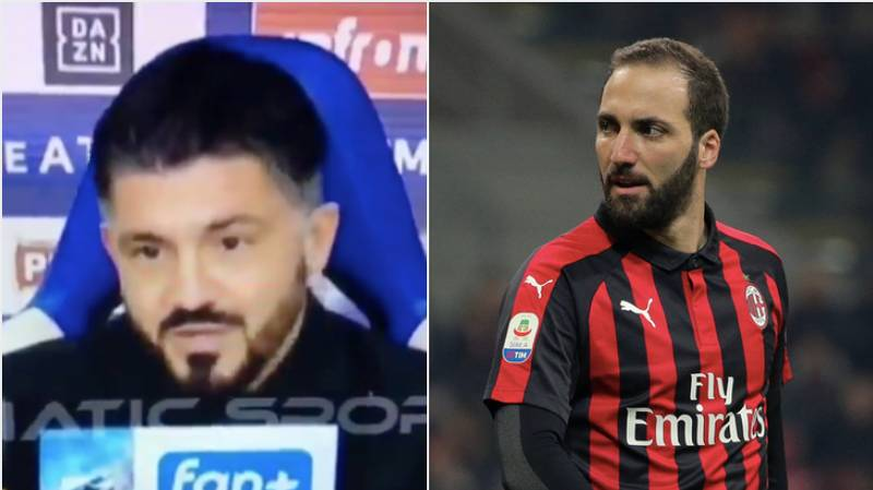 Gennaro Gattuso's Latest Comments About Gonzalo Higuain Are Crazy...Even For His Standards