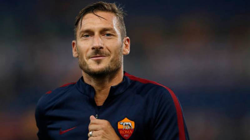 Francesco Totti Is Being Offered An Alternative To Retirement