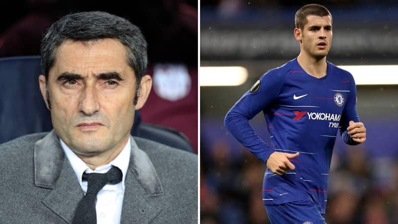 Chelsea Striker Álvaro Morata Has Apparently 'Offered Himself' To Barcelona