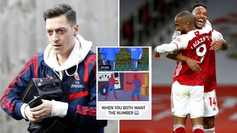 Arsenal Pair Are Already Discussing Mesut Ozil's Shirt Number And He Hasn't Even Officially Left Yet