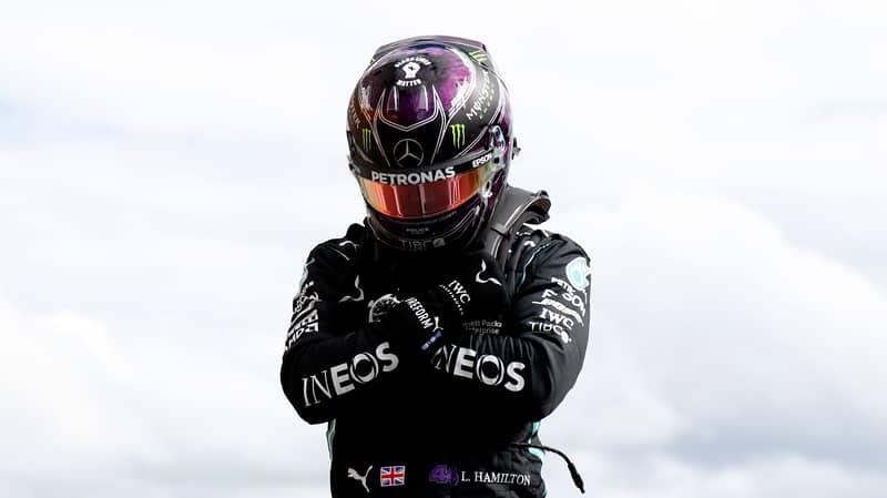 Lewis Hamilton Performs Wakanda Salute In Memory Of Chadwick Boseman At Belgian Grand Prix